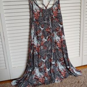 Roxy Strappy dress NWOT